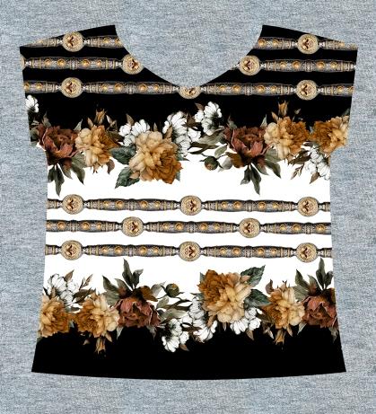 010 - Floral e jóias
