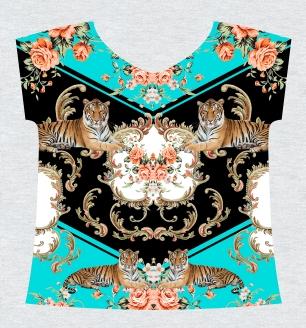 011 - Flores de tapeçaria